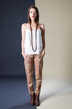Chain Top and Sunday Trousers Classic Outfits, Simple Outfits, Cape Town South Africa, Ethical Fashion, Pyjamas, Leather Shoes, Compliments, Sunday, Trousers