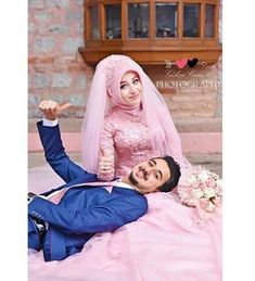 dresses hijab muslim couples the bride Muslim Couple Photography, Wedding Photography Poses, Wedding Poses, Wedding Couples, Cute Muslim Couples, Romantic Couples, Cute Couples, Romantic Photos, Couple Wedding Dress