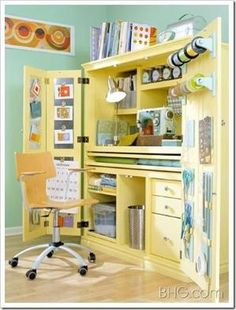 craft closet idea by elba