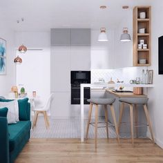 Trendy home small apartment studio layout 56 ideas
