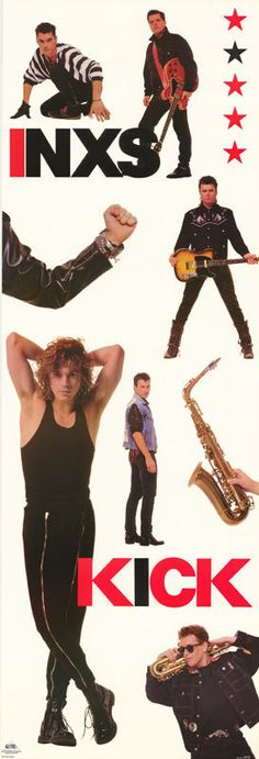 inxs posters | See the small card with the code on it? The seller printed that out ...