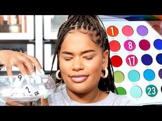 Numbers Pick My Eyeshadow Challenge! Fx Makeup, Beauty Makeup, Alissa Ashley, Body Modifications, Morphe, Plastic Surgery, Body Painting, Lotion, Numbers