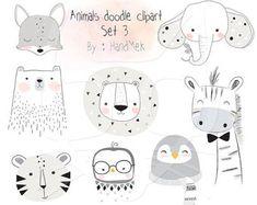 Birds clip art set instant download PNG file 300 dpi by HandMek