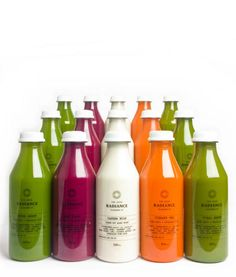 Radiance Juice Cleanse. Again, has pared-back, science-based look.