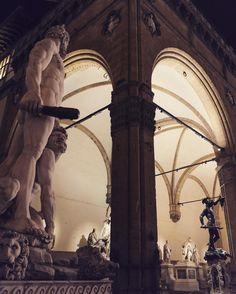 Loggia dei Lanzi, Piazza della Signoria, Firenze
