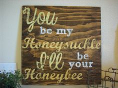Western Sign Rustic by TheCrickettyCottage on Etsy, $45.00