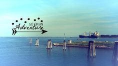 GO ON AN ADVENTURE #phonebackground #tumblr #boat #sea #cute #blue #turquoise…