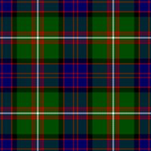 My father's family tartan. Macdonald of clan Ranald.