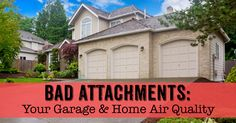 Is your garage ruining your home's air quality? Air Conditioning Services, Heating And Air Conditioning, Heating And Cooling, Home Hacks, Birmingham, Healthy Living, Garage, Things To Come, Cleaning