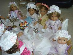 Linda's AG Colonial Tea Party So cute