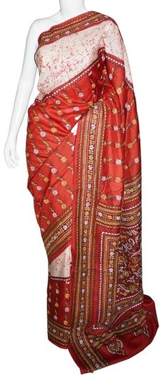 d59a660c605fc 25 Best Kantha Silk Sarees images in 2019