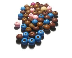 Round Wooden Beads Beads Mix Color Jewelry findings Diy Jewelry Supplies Bead supplies Colorful beads Craft supplies by Neda Diy Jewelry Supplies, Beading Supplies, Craft Supplies, Wooden Beads, Bead Crafts, Jewelry Findings, Color Mixing, My Etsy Shop, Creativity