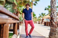 BoyWonder: Δερμάτινα μπλε #Sagiakos casual laceups! 👞 Capri Pants, Men, Fashion, Moda, Capri Trousers, Fashion Styles, Guys, Fashion Illustrations