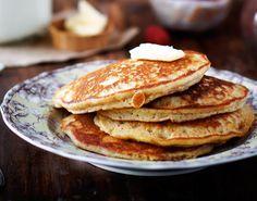 Maple Almond Pancakes