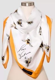 Victoria Beckham For Target Bee Scarf NWT* 492510804993 | eBay