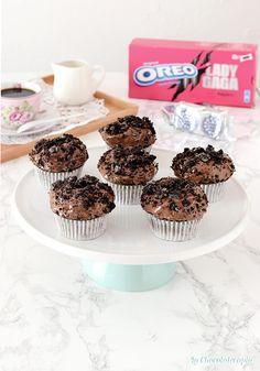 Esta es nuestra nueva receta de hoy... unas magdalenas con galletas @oreo que están deliciosas y lo mejor es que son muy fáciles de preparar. La receta ya está en nuestro blog. Muffin, Cupcakes, Breakfast, Blog, Chocolate Frosting, Cheesecake De Oreo, Oreo Cookies, Milk, Easy Recipes
