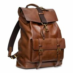 Coach. Brown Leather Backpack, Leather Backpacks, Leather Bag, Travel Bags,  Purses 8bff5c6011