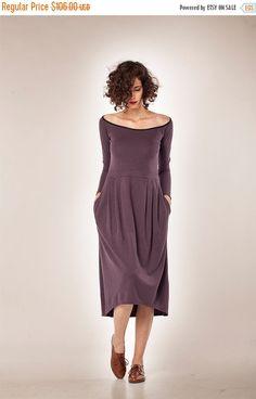 Weihnachten im Juli Frauen Kleid / langen Ärmeln von YaelAdmoni