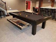 Risultati immagini per one madison park pool table 8 Pool Table, Contemporary Style, Modern, West End, Custom Wood, Ideas Para, Design, Park, Home Decor