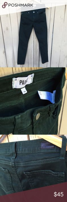 Paige Verdugo Ankle pants a cute pair of paige jeans!! // cut is verdugo ankle // size is 26 // stretchy material // no stains or rips // EuC // 9/10 condition // this style you need to have :) Paige Jeans Jeans Skinny
