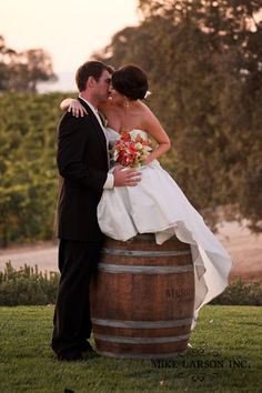 Best Meridian Vineyards Wedding Photographer.....ummm can I say love this & the photographer did a great job!!!