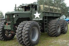 Insane 5 ton, just what you need for the zombie apocalypse! JC OFF ROAD Diesel Trucks, Cool Trucks, Pickup Trucks, Cool Cars, Muddy Trucks, Dump Trucks, Lifted Trucks, Army Vehicles, Armored Vehicles