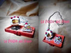 Le follie del fimo - Miniature handmade in fimo Miniatures, Handmade, Fimo, Necklaces, Hand Made, Mini Things, Craft, Mockup, Handarbeit