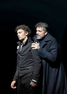 Thomas H#ampson und Jonas #Kaufmann in Don Carlos. Salzburger Festspiele 2013.