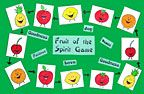 sunday school fruit of the spirit review game bible craft/ DANIELLE'S PLACE