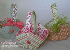 stampin up easter cards | Stampin' Up! Everyday Elegance Easter Baskets