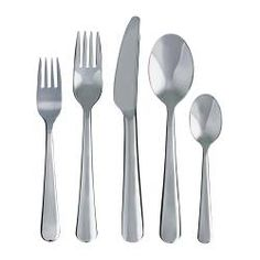 DRAGON 20-piece flatware set, stainless steel - IKEA