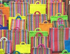 baskets made of ixtle fiber in DF