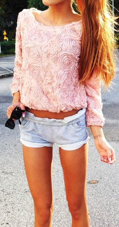 Can't get enough of this top! So cute.