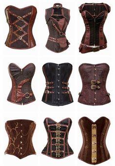 """Résultat de recherche d'images pour """"costume steampunk corset"""""""