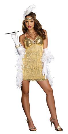 aded58df16a Vaudeville Vixen Sexy Flapper Costume - Flapper Costumes 1920 Costumes
