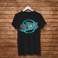 The Strokes Shirt The Stroke Indie Rock Women TShirt by Ukengsi, $16.97