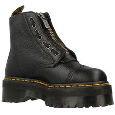 Dr.Martens Sinclair Black Womens Leather Platform Combat Boots | Clothes, Shoes & Accessories, Women's Shoes, Boots | eBay!