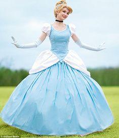 Blue dress like belle vs cinderella