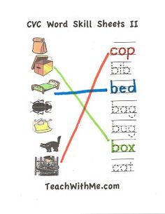 CVC Skill Sheets II