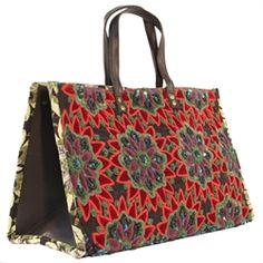 Original Vasanty Manet Tote Mauvey Bag by Vasanty Manet - Matt Blatt