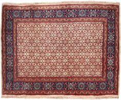 """Moud Salmon Allover Carpet CS-M925254213 X 161 Cm. (7'1"""" X 5'3"""" Ft.) - Carpetsanta"""
