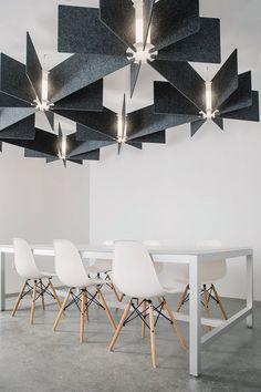 Industrial pendant light dining room decor