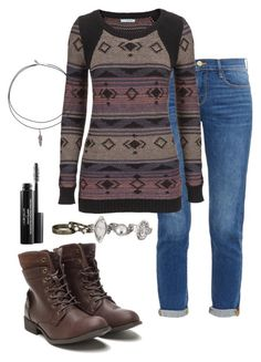 """""""Machu Picchu"""" by deliag ❤ liked on Polyvore featuring Frame Denim, maurices and Laura Geller"""