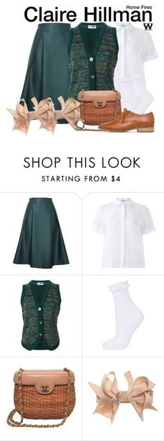 """""""Home Fires"""" by wearwhatyouwatch ❤ liked on Polyvore featuring Relaxfeel, Jigsaw, Missoni, Topshop, Chanel, television and wearwhatyouwatch"""