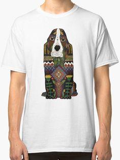 Basset Hound Cute Retro Dog Art Hoodie Adopt Don/'t Shop Sweatshirt