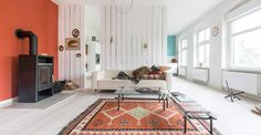 Design Addict Mom: Pared Down and Cozy in Berlin and a Winner!