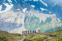 Hikers in Patagonia.- Tierra Del Fuego Image by Edwin Remsberg / The Image Bank / Getty Images.