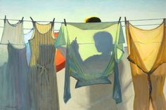 Painting by Jeffrey T. Larson