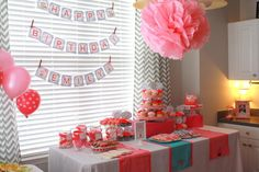 first birthday party ideas love this a lot of details but a cute theme for a little girl!