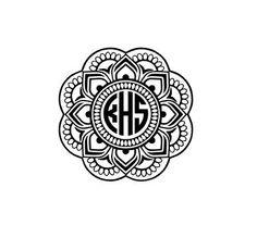 Hey, I found this really awesome Etsy listing at https://www.etsy.com/listing/268564616/mandala-monogram-decal-yeti-tumbler